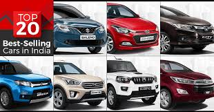 cars india top 20 best selling cars in india