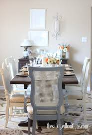 hosting thanksgiving dining room chairs makeover the salvaged