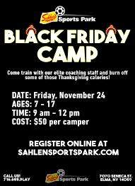 black friday dates 2017 black friday camp sahlen sports park