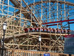 6 Flags Saint Louis American Thunder Roller Coaster Wikipedia