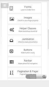 bootstrap tutorial pdf w3schools w3school bootstrap tutorials 1 0 apk download android education apps