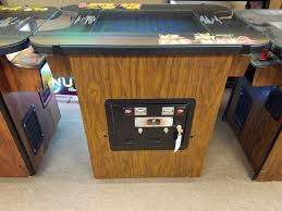 ms pacman cocktail table w 24 game multi pac for sale