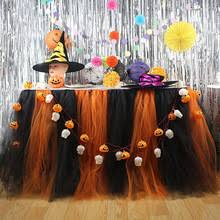 Halloween Themed Baby Shower Decorations by Popular Black Table Skirt Buy Cheap Black Table Skirt Lots From