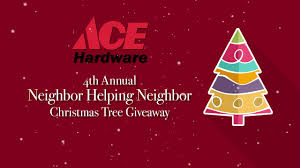 ace hardware annual report ace hardware 4th annual christmas tree giveaway youtube