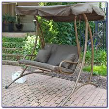 patio swings with canopy and cup holders patios home