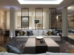 simple home interior design living room best 25 living room partition design ideas on