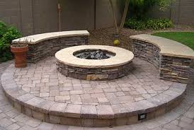 exterior fire pit patio designs build your own bbq pit backyard
