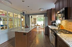 colonial open floor plan kitchen remodel galley kitchen remodel 70s cre8tive designs inc