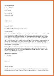 donation request letter soap format
