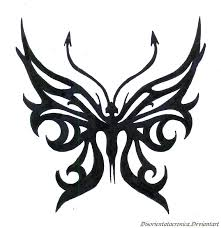 tribal stag tattoo lord of the underworld butterfly tattoo inked up pinterest