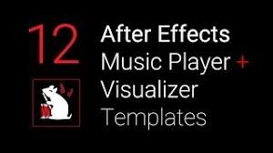 minimal square visualizer free after effects cs6 template