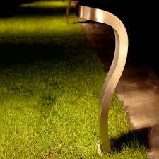 garden bollard light contemporary metal led cbr 605