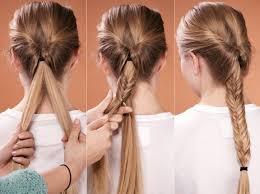 Frisuren F Mittellange Haare Mit Anleitung by Best 7 Leichte Frisuren Für Lange Haare Neueste Mode Frisuren