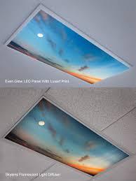 Decorative Fluorescent Light Panels Decorative Fluorescent Light Diffusers U2022 Lighting Decor