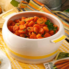 maple glazed carrots recipe taste of home