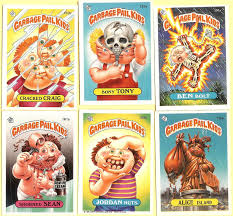 kid cards garbage pail kids cards gross but oh so to read my