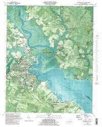elizabeth city topographic map nc usgs topo 36076c2