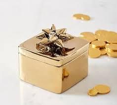 Yellow Decorative Box Decorative Boxes U0026 Trays Pottery Barn