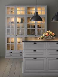glass door kitchen cabinet lighting integrated lighting ikea