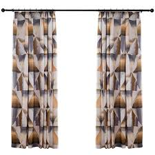 Multi Color Curtains Multi Color Funky Tribal Curtains For Windows