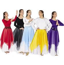 39768 single handkerchief liturgical dance skirt 18 00