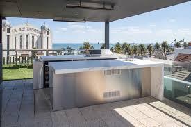 The Kitchen Design Centre St Kilda Rooftop Terrace U0026 Teppanyaki Bar Modern Terrace