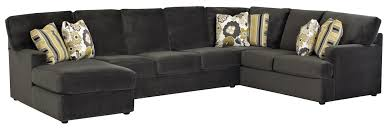 Left Sectional Sofa Sectional Sofa With Left Side Chaise By Klaussner Wolf And