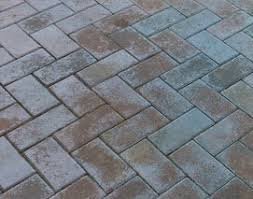 Patio Sealant Stamped Concrete Or Paver Sealer Turned White Concrete Sealing