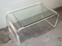 acrylic and glass coffee table acrylic coffee table
