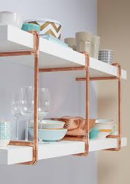 Kitchen Open Shelves Ideas Best 25 Pipe Shelves Ideas On Pinterest Industrial Shelving