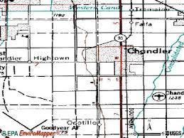map of chandler az chandler arizona az profile population maps estate