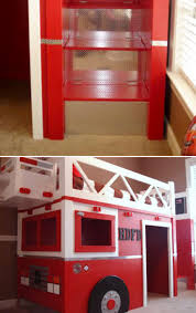 bedroom fire truck bunk bed for inspiring unique bed design ideas fire truck bunk bed toddler bed costco fire truck loft bed with slide
