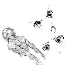 wolverine anime eyes sketch by radicalflaw on deviantart