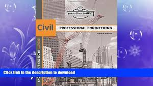 read pass the civil professional engineering pe exam guide book