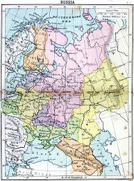 russia map before partition maps of russian history