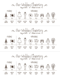 planning a wedding ceremony wedding timeline printable wedding timeline schedule itinerary by