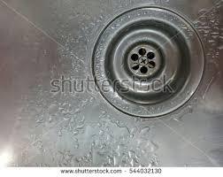 Bathroom Water Outlet Water Drain Kitchen Stock Photo 127127654 Shutterstock