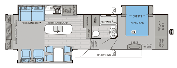 Rear Kitchen Rv Floor Plans by 2015 Eagle Premier Floorplans U0026 Prices Jayco Inc
