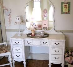 Antique White Makeup Vanity Small Bedroom Vanity White Bedroom Vanities Design Ideas