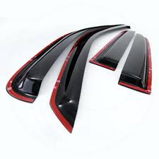 Exterior Door Rain Deflector by Window Visor Side Window Deflector Side Window Visor Honda