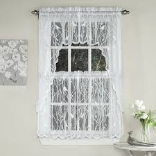 Kitchen Curtains Songbird Sheer Kitchen Curtains