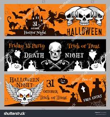 Halloween Invitation Templates by Happy Halloween Friday 13 Night Party Stock Vector 719154040