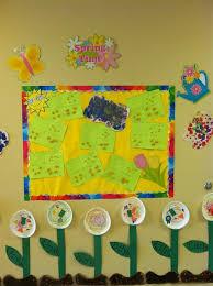 flowers butterflies science bulletin board