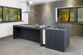 cuisine en beton beton cire mur cuisine salle de bain 1 b233ton cir233 r233sine salon