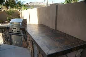 Outdoor Kitchen Backsplash Ideas Outdoor Tile Ideas Design In Outdoor Kitchen Tile Backsplash
