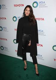 eiza gonzalez at ucla institute of the environment fashion