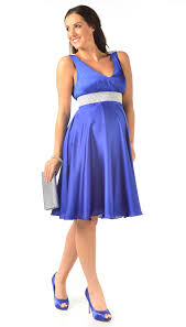 maternity occasion wear freya royal blue maternity occasion dress
