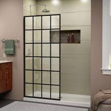 Framless Glass Doors by Frameless Shower Doors Showers The Home Depot