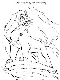 mufasa roar lion king coloring download u0026 print