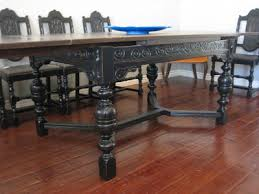 table with slide out leaves furniture cool spanish vintage dining table with pull out leaves design